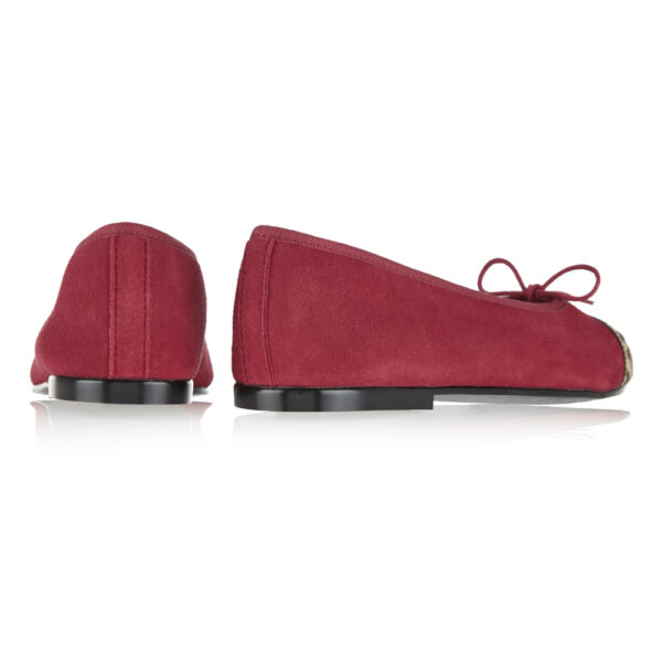 Image 4 for Simple Red Suede (SM575)
