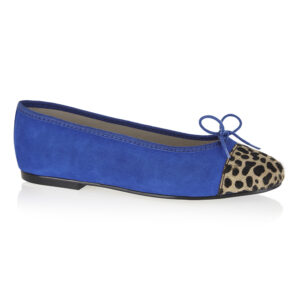 Image 1 for Simple Cobalt Suede   Calf Hair (SM583)