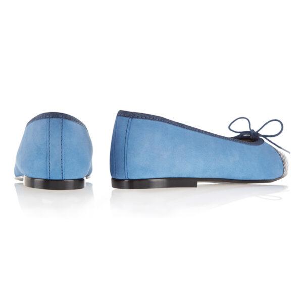 Image 4 for Simple Blue Nubuck   Snake Toe (SM594)