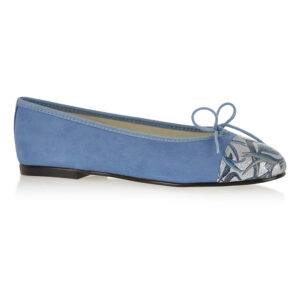 Image 1 for Simple Blue Nubuck Jungle Toecap (SM598)