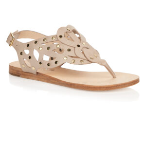 Image 1 for Glastonbury Gladiator Nude Leather With Studs (TPO13)