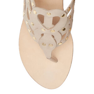Image 2 for Glastonbury Gladiator Nude Leather With Studs (TPO13)