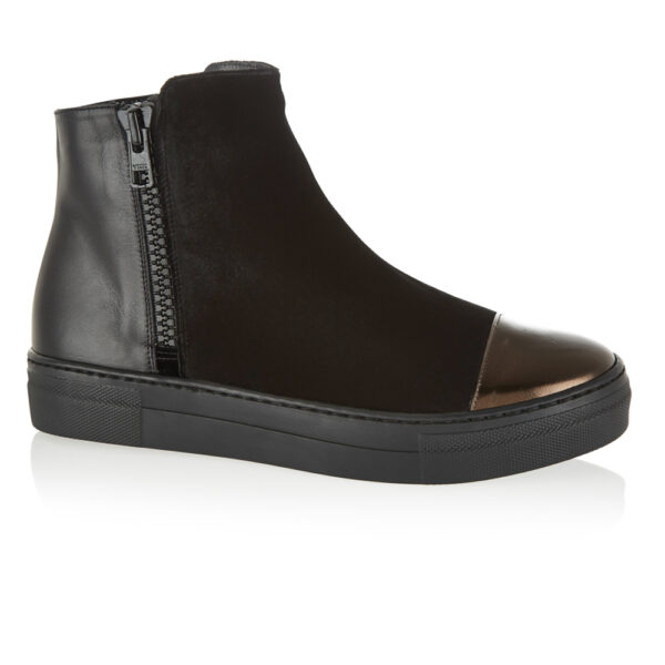 Image 1 for Urban Ankle Boot Black Suede