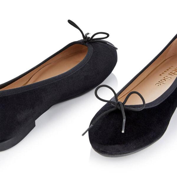 Image 2 for Amelie Black Velvet (AML1260)