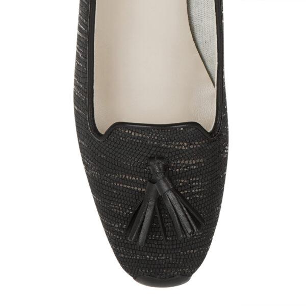 Image 2 for Gabi Black Texture Met Leather (GABS34)