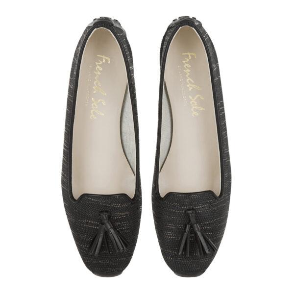 Image 3 for Gabi Black Texture Met Leather (GABS34)