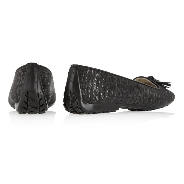 Image 4 for Gabi Black Texture Met Leather (GABS34)