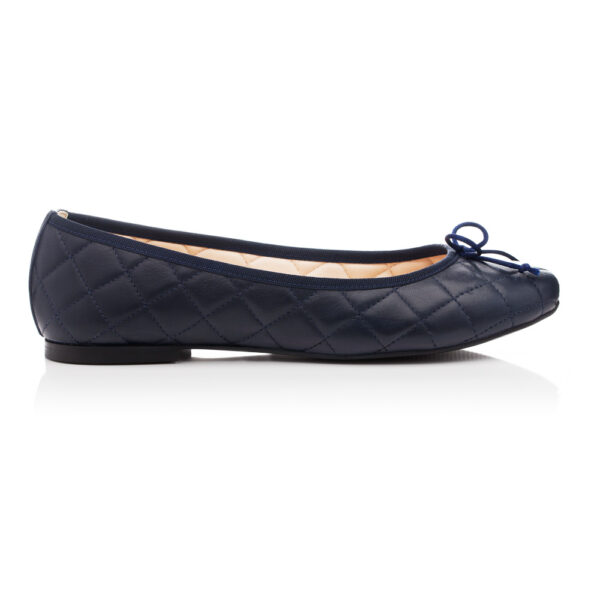 Image 3 for Lola Navy Quilted Leather (LAQ04)